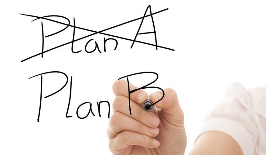 b plani yapmak