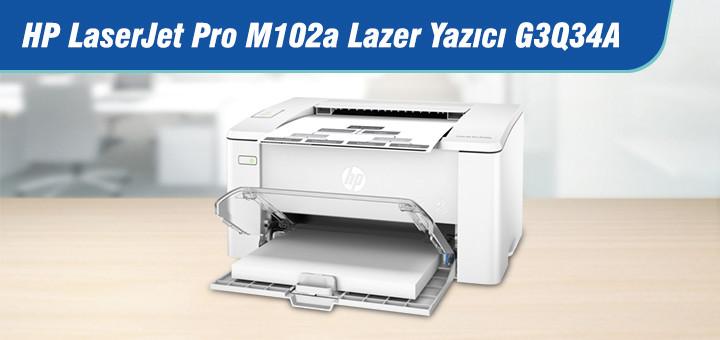 HP LaserJet Pro M102a Lazer Yazıcı