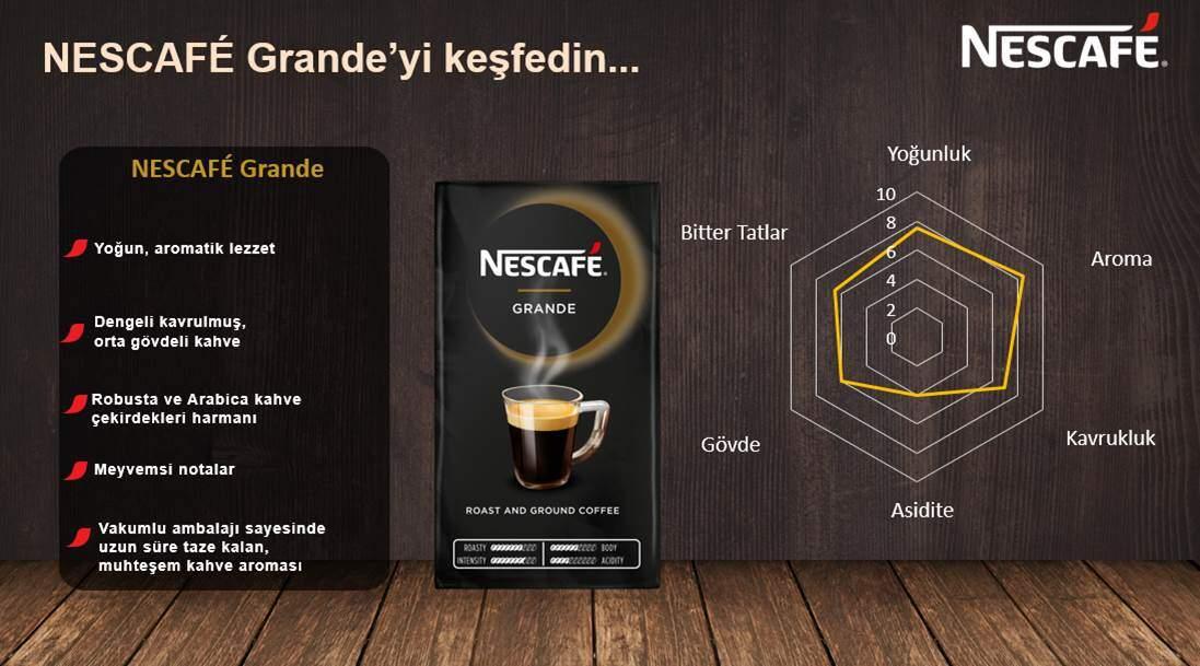 nescafe grande filtre kahve